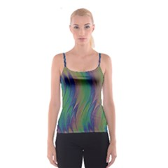 Texture Abstract Background Spaghetti Strap Top by Nexatart