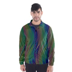 Texture Abstract Background Wind Breaker (men) by Nexatart