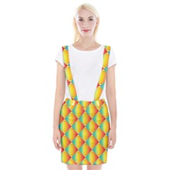 The Colors Of Summer Suspender Skirt by Nexatart