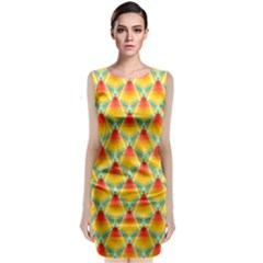 The Colors Of Summer Classic Sleeveless Midi Dress by Nexatart