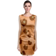 Seamless Tile Background Abstract Classic Sleeveless Midi Dress by Amaryn4rt