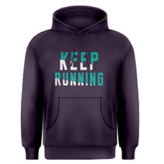 Keep Running   Men s Pullover Hoodie by FunnySaying