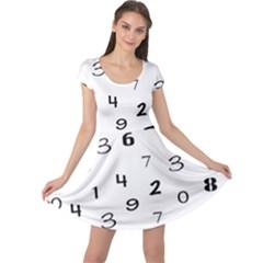 Number Black Cap Sleeve Dresses by Alisyart