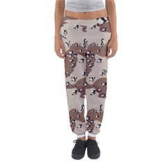 Camouflage Army Disguise Grey Brown Women s Jogger Sweatpants by Alisyart