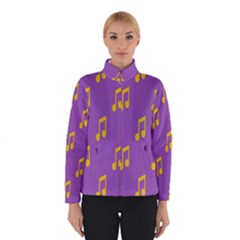 Eighth Note Music Tone Yellow Purple Winterwear by Alisyart