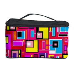 File Digital Disc Red Yellow Rainbow Cosmetic Storage Case by Alisyart