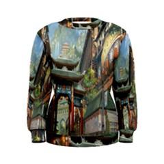 Japanese Art Painting Fantasy Women s Sweatshirt by Amaryn4rt
