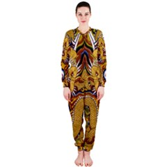 Chinese Dragon Pattern Onepiece Jumpsuit (ladies)  by Amaryn4rt