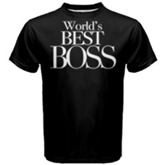 World s Best Boss - Men s Cotton Tee by FunnySaying