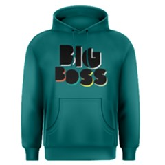 Big Boss - Men s Pullover Hoodie by FunnySaying