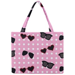 Pisunglass Tech Pink Pattern Mini Tote Bag