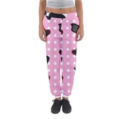 Pisunglass Tech Pink Pattern Women s Jogger Sweatpants by Simbadda