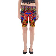 Breath Of Life Yoga Cropped Leggings by AlmightyPsyche