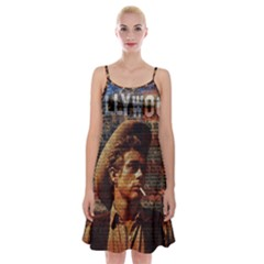 James Dean   Spaghetti Strap Velvet Dress by Valentinaart