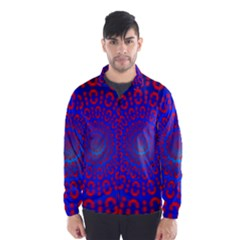 Binary Code Optical Illusion Rotation Wind Breaker (men) by Simbadda