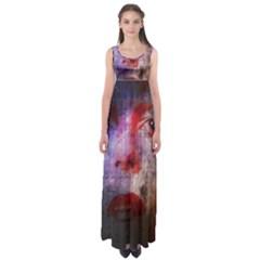 David Bowie  Empire Waist Maxi Dress by Valentinaart