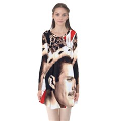 Freddie Mercury Flare Dress by Valentinaart