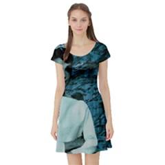 Audrey Hepburn Short Sleeve Skater Dress by Valentinaart