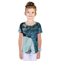 Audrey Hepburn Kids  One Piece Tee by Valentinaart