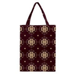 Seamless Ornament Symmetry Lines Classic Tote Bag