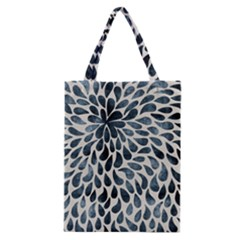 Abstract Flower Petals Floral Classic Tote Bag