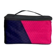 Pink Pattern Cosmetic Storage Case by Simbadda