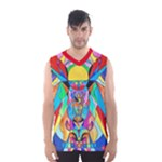 Arcturian Metamorphosis Grid - Men s Basketball Tank Top