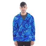 Arcturian Calming Grid - Hooded Wind Breaker (Men)