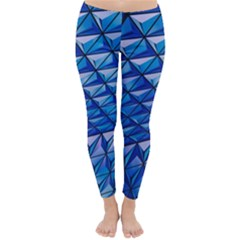 Lines Geometry Architecture Texture Classic Winter Leggings by Simbadda