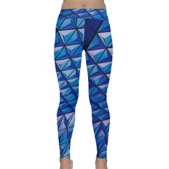 Lines Geometry Architecture Texture Classic Yoga Leggings by Simbadda