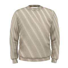 Sand Pattern Wave Texture Men s Sweatshirt by Simbadda