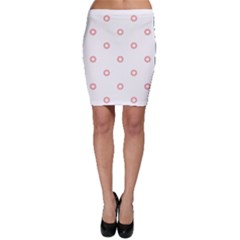 Scrapbook Paper Flower Bodycon Skirt by Alisyart