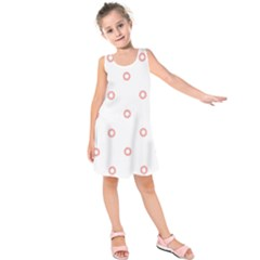 Scrapbook Paper Flower Kids  Sleeveless Dress by Alisyart