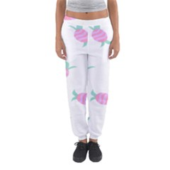 Candy Pink Blue Sweet Women s Jogger Sweatpants by Alisyart