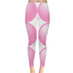 Circle Pink Leggings  by Alisyart