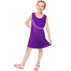 Purple Line Kids  Tunic Dress by Alisyart
