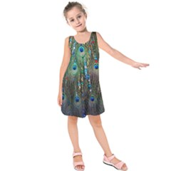 Peacock Jewelery Kids  Sleeveless Dress by Simbadda