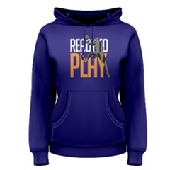 Ready To Play Basketball - Women s Pullover Hoodie by FunnySaying