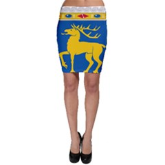 Coat Of Arms Of Aland Bodycon Skirt by abbeyz71