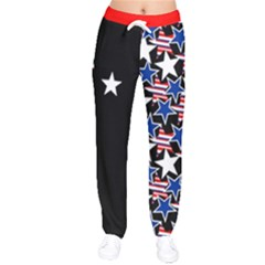 Usa5 Velvet Drawstring Pants