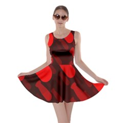 Missile Rockets Red Skater Dress