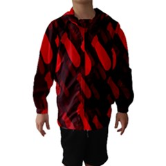 Missile Rockets Red Hooded Wind Breaker (kids) by Alisyart