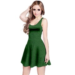 Texture Green Rush Easter Reversible Sleeveless Dress by Simbadda