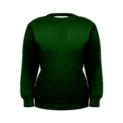 Texture Green Rush Easter Women s Sweatshirt by Simbadda