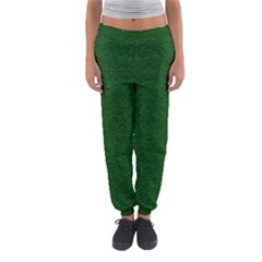 Texture Green Rush Easter Women s Jogger Sweatpants by Simbadda