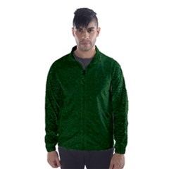 Texture Green Rush Easter Wind Breaker (men) by Simbadda