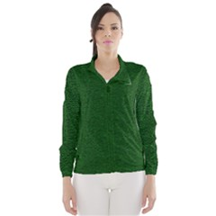 Texture Green Rush Easter Wind Breaker (women) by Simbadda