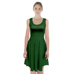 Texture Green Rush Easter Racerback Midi Dress by Simbadda