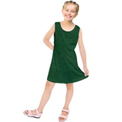 Texture Green Rush Easter Kids  Tunic Dress by Simbadda