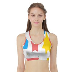 Evolution Jumsoft Star Sports Bra With Border by Alisyart